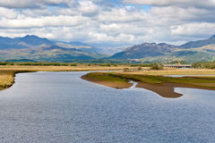 View across Snowdonia from Royalty Free Stock Photos