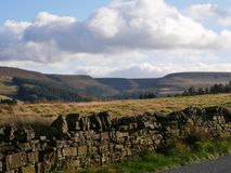 View Across The Pennines Above Holmfirth Yorkshire England Royalty Free Stock Images
