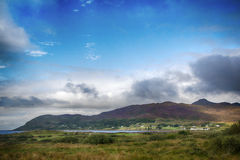 View across to  Kilchoan Stock Image