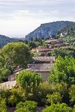 View across valledemossa stock photo