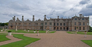 View across the West Garden at Kirby Hall Stock Image