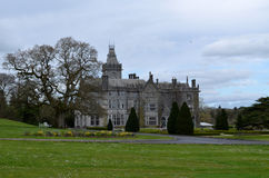 View of Adare Manor with Lush Landscape Stock Image