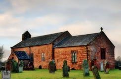 View of Addingham Church, Cumbria Royalty Free Stock Photos
