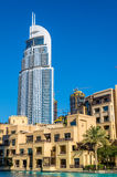 View of the Address Downtown Hotel in Dubai Royalty Free Stock Photo