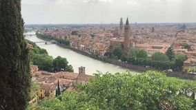 View of the Adige River, Verona, Italy
