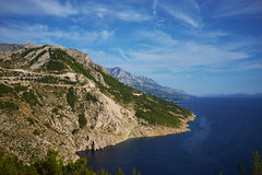 View of the Adriatic Stock Photography