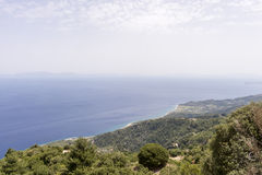 View of the Aegean sea Royalty Free Stock Photography