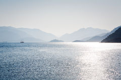View of Aegean Sea Stock Image