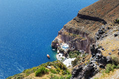 The view on Aegean sea Royalty Free Stock Photo