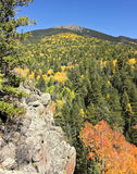 A View of Agassiz Peak in the Fall Stock Photography