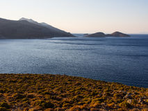 The view from Aghios Ioannis Royalty Free Stock Image