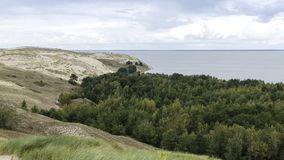 View from the Agilis Dune Stock Photos