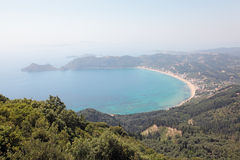 View on Agios Georgios, Corfu Island, Greece. Stock Image
