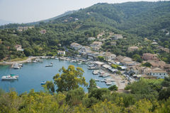 View on Agios Stefanos Royalty Free Stock Photos