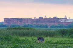 View on Agra Fort Royalty Free Stock Images
