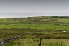Landscape of Thurso countryside royalty free stock image