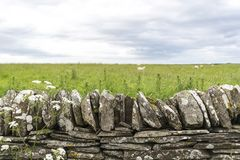 Landscape of Thurso countryside Stock Image