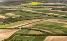 View of agricultural landscape  at vienna Royalty Free Stock Photos