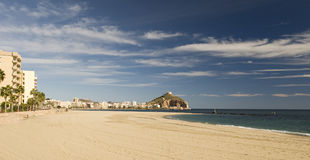 View of Aguilas Town looking north. Murcia Province, Spain Stock Images