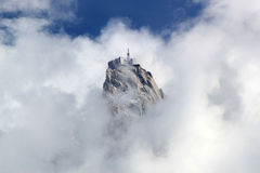 View of Aiguille Du Midi, France Royalty Free Stock Image