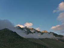 View of Aiguillle de la Tsa 2 Royalty Free Stock Images