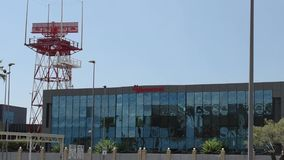 View of Air Navigation Services of Albania Albcontrol building
