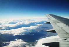View from an aircraft Stock Photo