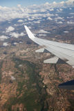 View from Airplane Royalty Free Stock Images
