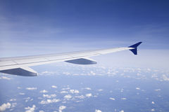View from an airplane Stock Photography