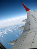 View from the airplane Stock Photos