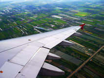 View from Airplane Royalty Free Stock Photos
