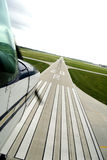 View from an airplane Royalty Free Stock Image