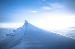 View from an airplane Royalty Free Stock Photography