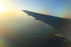 View from the airplane Royalty Free Stock Photography