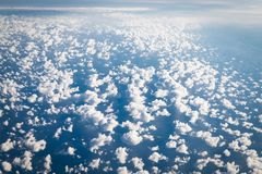 View from airplane on Earth. Perfect View from airplane on the Earth royalty free stock photo
