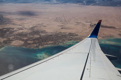 View from Airplane Royalty Free Stock Image
