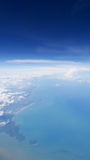 View from the airplane (1) Royalty Free Stock Image