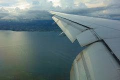 View from the airplane Royalty Free Stock Images