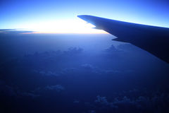 View from the airplane Royalty Free Stock Image