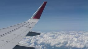 View from Airplane Wing