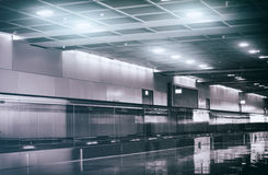 View of airport interior. Royalty Free Stock Images