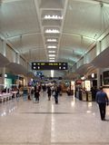 View at airport terminal Royalty Free Stock Images