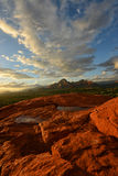 View from Airport Vortex in Sedona Royalty Free Stock Photography
