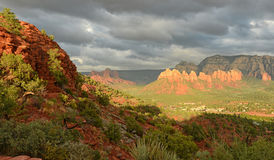 View from Airport Vortex in Sedona Royalty Free Stock Images