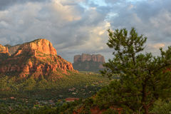 View from Airport Vortex in Sedona, Arizona Royalty Free Stock Images