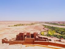 View from Ait Benhaddou, Morocco Royalty Free Stock Photo
