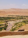 View from Ait Benhaddou, Morocco Stock Photos