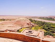 View from Ait Benhaddou, Morocco Royalty Free Stock Photos