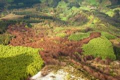 View from Aizkorri range, Basque Country (Spain). View from Aizkorri range, Basque Country in Spain Stock Photo