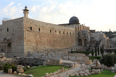 View on Al-Aqsa Mosque Royalty Free Stock Photo